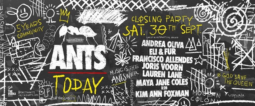 ANTS Closing Party - Ushuaïa Ibiza