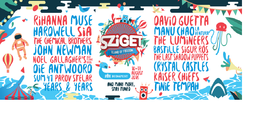 Gabor Kraft - Sziget Festival, Colosseum Stage 16-08-2016 (StreamOn)