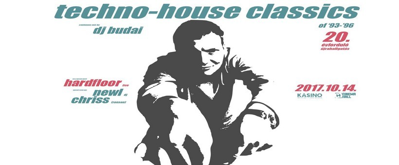DJ Budai Techno-House Classics 20th anniversary re-listening