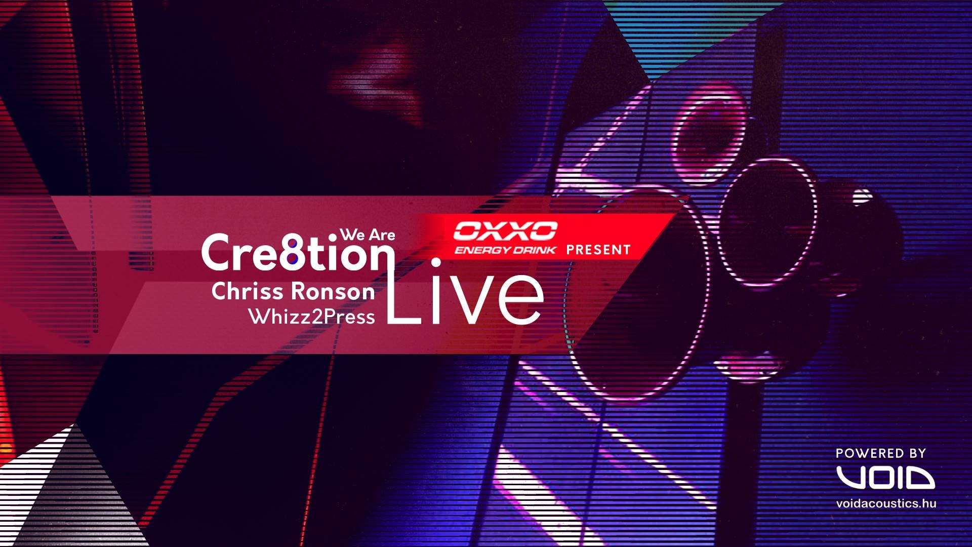 OXXO presents We Are Cre8tion ( live stream 003 )