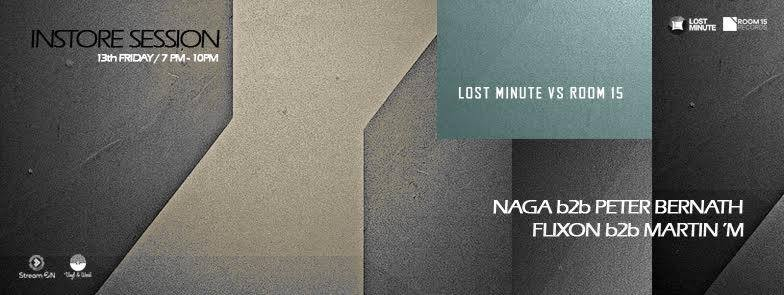 Flixon and Martin 'M and Peter Bernath - Lost Minute vs Room 15, 2017.01.13.