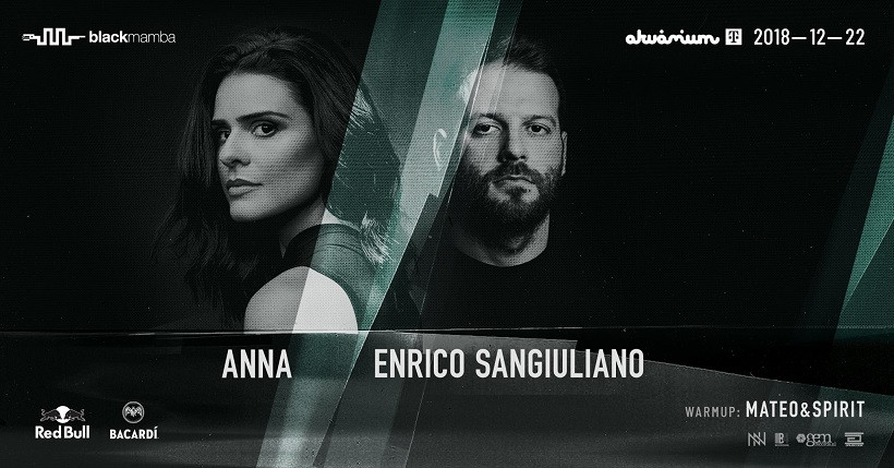 ANNA /// Enrico Sangiuliano / Hosted by Black Mamba