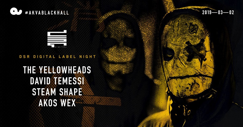 DSR with The Yellowheads at Akvárium Klub / BlackHall
