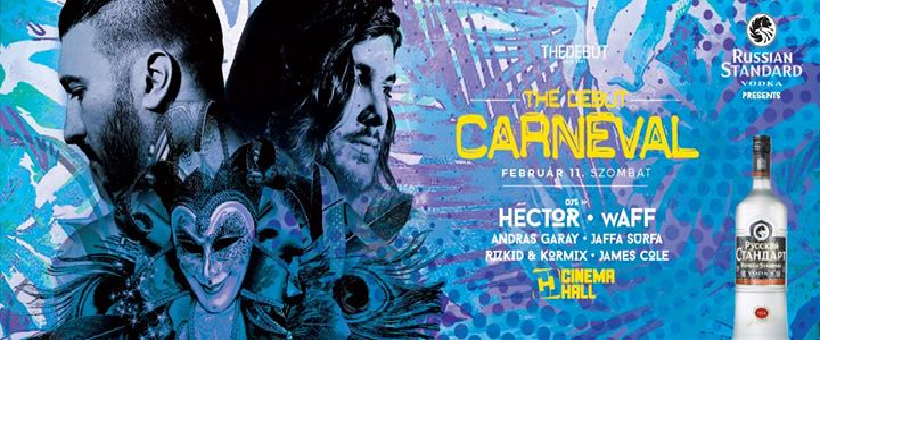 Andras Garay - The Debut Carneval @ Cinema Hall Budapest 11-02-2017 #StreamOn